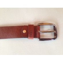 Ombro Brown Leather Jean Belt