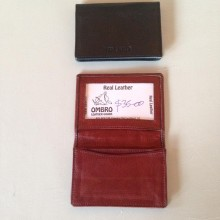"""Busa"" Small Business Card & CC Holder- RFID"