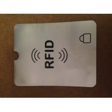 RFID PROTECTED SLEEVE FOR PASSPORT