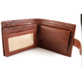 Mens 'Wonder' Wallet Variation: Large coin purse with clip